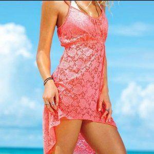 Victoria's Secret Pink Lace Cover Up Dress